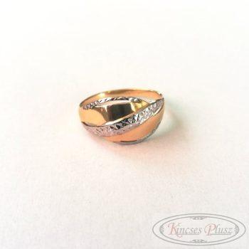 Felújított arany gyűrű 67'