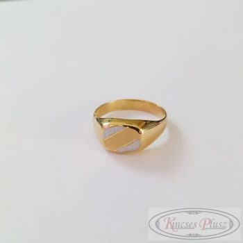 Arany gyűrű pecsét 63'