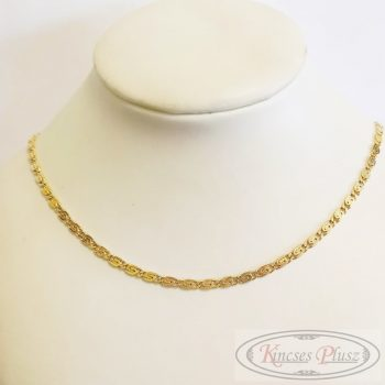 Arany nyaklánc charles 55cm