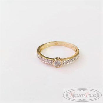 Arany gyűrű soliter 52'