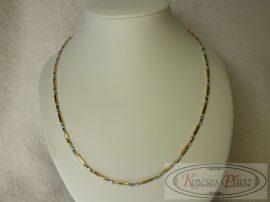 Arany nyaklánc kétszínű 50 cm hosszú