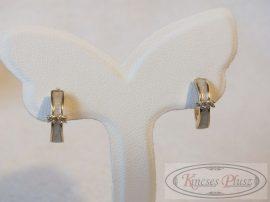 Arany karika fülbevaló 13 mm átmérővel