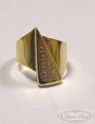 Felújított arany gyűrű 52-es méretben
