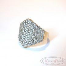 Köves arany gyűrű 55-ös