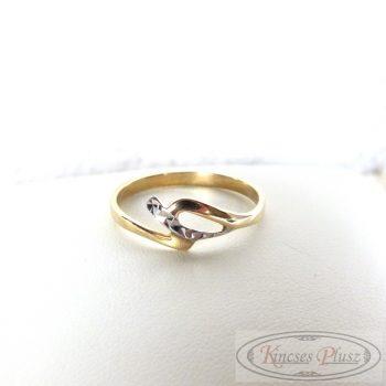 Arany gyűrű 54-es méretben