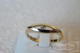 Arany gyűrű 60-as méret