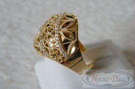 Arany gyűrű 62ésfeles méret