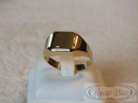 Arany pecsétgyűrű 64-es méret